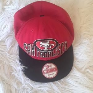 New era 9 fifty snap back 49ers hat